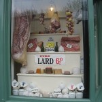 The Butchers window