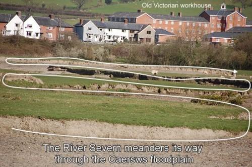 Meandering Severn