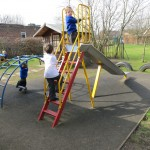 Early Years climbing area