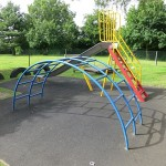 Early Years climbing frame and slide