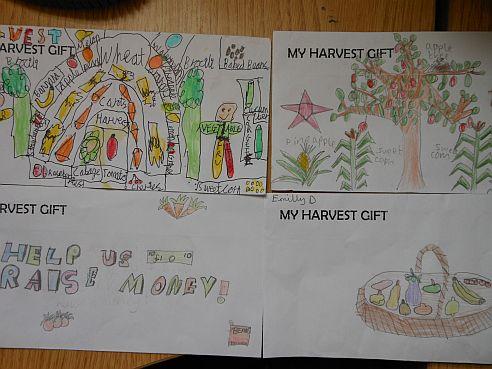 Harvest Gift Envelopes