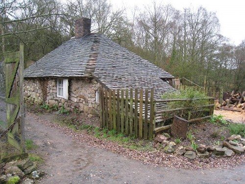 Cottage of the poor