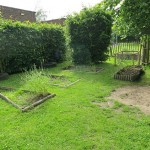 Reception's garden