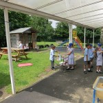 Early Years outdoor learning area