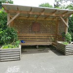 Shelter in our main playground